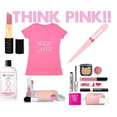 Breast Cancer Awareness Month: Think Pink!!  October is Breast Cancer Awareness month, so support breast cancer research groups (in style!) with these pink products. #beauty #beautyproducts #health #Iman #makeup #philosophy  #wellness #bareminerals #breastcancerawarenessmonth