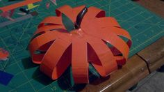 Duct Tape Pumpkin Craft