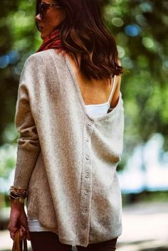 .love this big sweater, no shopping info...if I had to guess, It has the look of Eileen Fisher
