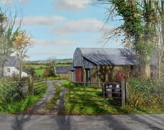 Buy Farmyard In Autumn by Eugene Conway at Gormleys Fine Art gallery. Leading dealers in Irish art since 1990.