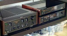 Sony TA-F800ES (1987-1989) Sony CDP-552ESDII  Sony DTC-1000ES