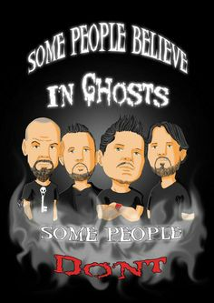'GAC The new crew' Poster by anapeig Ghost Adventures Funny, Ghost Adventures Zak Bagans, Slipknot Lyrics, Hunting Shows, Ghost Shows, Ghost Hunters, Adventure Quotes, Music Tv, Love Quotes For Him