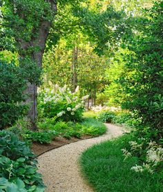 25 Most Beautiful DIY Garden Path Ideas is part of Backyard garden Inspiration - favorite books on garden path construction! Diy Garden, Shade Garden, Dream Garden, Garden Beds, Garden Oasis, Garden Cottage, Lush Garden, Tropical Garden, Herb Garden