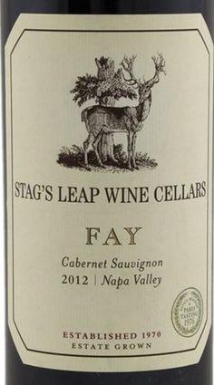 2012 Stag's Leap Wine Cellars Cabernet Sauvignon Fay