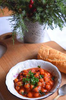 Kuchnia Koloru Blond: Cieciorka po bretońsku Chana Masala, Blond, Ethnic Recipes