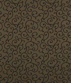 Robert Allen Visibly Soft Latte Fabric - $48.85 | onlinefabricstore.net