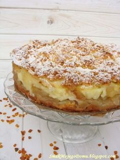 Polish Desserts, Polish Recipes, Just Desserts, Apple Cake Recipes, Easy Cake Recipes, Dessert Recipes, Sweets Cake, Dessert Drinks, Special Recipes
