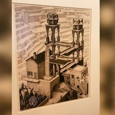 It's that moment you look at Escher through two sets of eyes, you know the true meaning of indefinitely.....