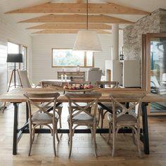 Cottage Interior in Finland