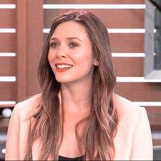 Elizabeth Olsen Scarlet Witch, Wanda And Vision, Pure Beauty, Captain Marvel, Most Beautiful Women, Straight Hairstyles, Blues, Actors, Pure Products