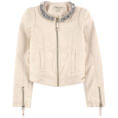 TWIN-SET Куртка из кожзаменителя