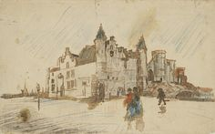 View of Het Steen, 1885, Vincent van Gogh, Van Gogh Museum, Amsterdam (Vincent van Gogh Foundation)