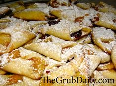 Authentic family recipe for delicious Hungarian Cream Cheese Cookies (Kiffles).