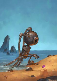 De-nouveaux-robots-solitaires-par-Matt-Dixon-14 De nouveaux robots solitaires par Matt Dixon