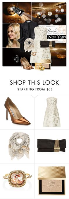 """Party style"" by cly88 ❤ liked on Polyvore featuring Manolo Blahnik, Victoria, Victoria Beckham, Lela Rose, Sophie Darling, Jimmy Choo, Cathy Waterman, Burberry and Paco Rabanne"