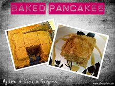 Baked Pancakes = Genius Idea
