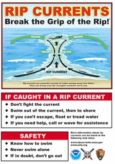Rip Current Safety- #Infographic - Fulcrum Mobile Data Collection can be used to document rip current locations. Since data is stored in the cloud, it is easy to share updates from the beach instantly so that precautions can be taken and warnings can be posted immediately.