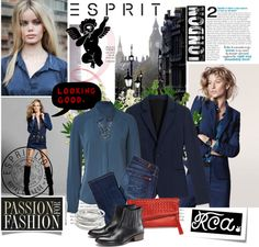 """""""Challenge Your Design Talent with Esprit & The Royal College of Art"""" by gaylagirl ❤ liked on Polyvore"""