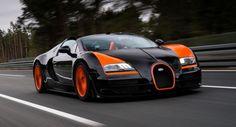 Bugatti Veyron GS Vitesse Sets Open-Top Speed Record at 409KM/H
