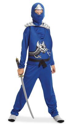 Blue Ninja Avengers Series II Child Costume from CostumeExpress.com