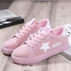 c06e8f4b406  Visit to Buy  2017 New Fashion Flats Women Trainers Breathable Sport Woman  Shoes Casual Outdoor Walking Women Flats Zapatillas Mujer