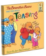 Lesson plan for The Berenstain Bears and Too Much Teasing by Stan and Jan Berenstain. Brother and Sister don't agree about teasing. Brother thinks teasing is okay until he gets teased. He uses a lot of ways to handle it but when a new student arrives who gets teased more than him, Brother comes up with his best solution.