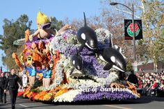 The annual Tournament of Roses Rose Parade on New Years Day is always a special treat. This year was no different as the pageantry of floats galore, drum majors doing their thing with their bands … Rose Bowl Parade, Parade Floats, Rose Queen, Roses, Pink, Rose, Pink Roses