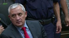 Otto Pérez Molina antes de ir a prisión: Me arrepiento de haber entrado en política