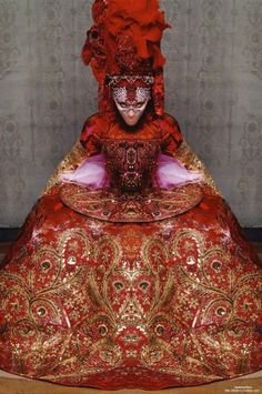 Madonna in Christian Lacroix