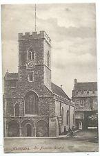 OXFORDSHIRE - ABINGDON, ST MICHAEL'S CHURCH Hooke Postcard