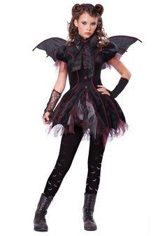 Tween Victorian Vampiress Costume www.halloweencostumes.com