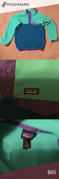 Kids Patagonia Patagonia pullover in excellent shape Patagonia Jackets & Coats