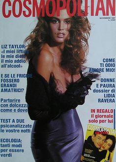 Cindy Crawford - Cosmopolitan Italy Nov 1987