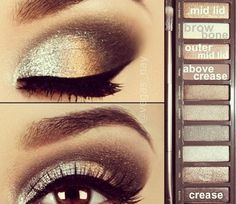 Eye Look with Naked2 Palette  @Luuux