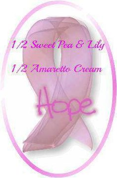 Pink Zebra Recipe- Hope.  Featuring Sweet Pea and Lily with Amaretto Cream