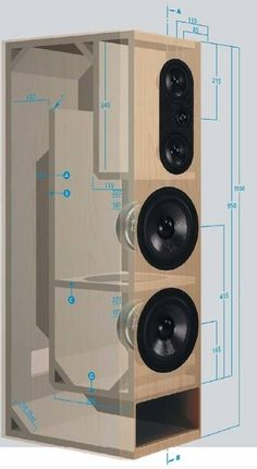 12 Speaker Box Plans - 12 12 Speaker Box Plans , Categories Box Designs with Subwoofers Box Designs Spl Box Subwoofer Diy, Subwoofer Box Design, Speaker Box Design, Speaker Box Diy, Custom Subwoofer Box, Hifi Speakers, Audio Amplifier, Hifi Audio, Home Theater Subwoofer