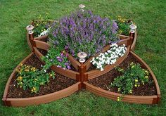 Raised flower beds - Click image to find more Gardening Pinterest pins