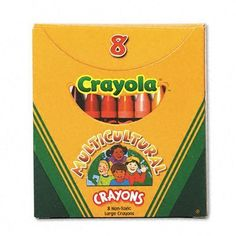 Crayola Construction Paper Crayons Classpack (400 crayons, 25 ea. color) by Crayola. Save 7 Off!. $53.44. Compliance, Standards - AP Certified Nontoxic. Crayon Size - 3 5/8 x 5/16 in. Age Recommendation - Ages 4 and Up. Color(s) - Assorted. Catalog Publishing Type - Crayons-Color. These crayons provide rich, bright color on any paper, especially construction paper, craft paper and cardboard. Crayons come in a sturdy and re-usable cardboard case. 400 regular size crayons, 25 each ...