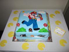 Computer/Arcade Games - The birthday cake!