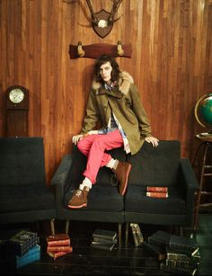 """Jaco van den Hoven appears in the Fall/Winter 2012 lookbook of Japanese shoe brand Caminando.    The shoes are based on Men's """"basic styles"""" and are inspired by work, military, sport, traditional, and contemporary design. By understanding the ability of """"basic styles"""" Caminando is able to produce something new."""