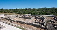 """Sabia que as denominadas """"Termas do Sul"""" foi um dos maiores monumentos construídos na cidade de Conimbriga?  (Foto MMC©DGPC)"""