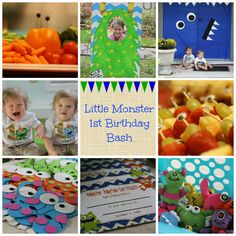 Chaos and Coffee: Lil' Monsters Bithday Bash