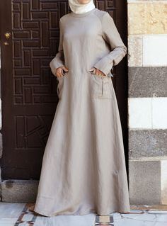 SHUKR USA | Cargo Pocketed Dress