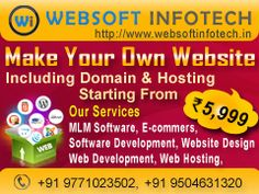 Websoft Infotech provides web design and web development rooted in creativity and founded in technical expertise. web development plays a vital role in your business site success. While web design covers the graphics and layout of your site, web development is the core coding that holds your web applications together.