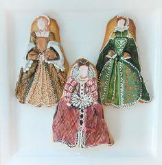 Tudor Dress Cookies
