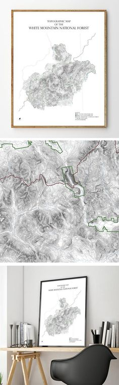54 Best Ski & Snowboard Mountain Maps