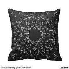 Strange Writing Pillows