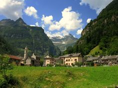Sonogno, Val Verzasca