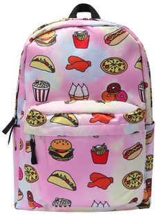The ultimate in fast food accessories.  Awesome backpack!
