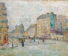 Boulevard de Clichy / Vincent van Gogh / 1887 / Oil on Canvas / Van Gogh Museum, Amsterdam